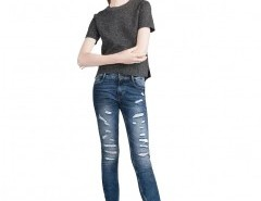 Ripped Skinny Jeans Chicnova online fashion store China