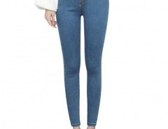 Skinny Jeans in Mid Wash Chicnova online fashion store China