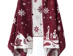 Snowflake Jacquard Scarf Chicnova online fashion store China