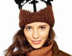Teddy Design Knit Hat Chicnova online fashion store China