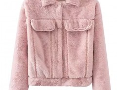 Fluffy Faux Fur Coat Chicnova online fashion store China