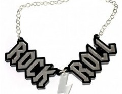 ROCK ROLL Pendant Necklace Chicnova online fashion store China
