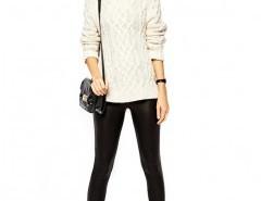 PU Leggings with Stretch Chicnova online fashion store China