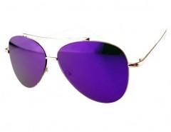 Tinted Aviator Sunglasses Chicnova online fashion store China