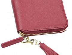 Zip Around Purse with Tassel Detail Chicnova online fashion store China