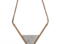 Short Triangle Pendant Necklace Chicnova online fashion store China