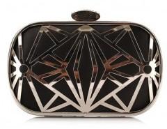 Metallic Box Clutch Bag Chicnova online fashion store China