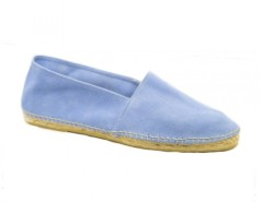 Azure - Sky Blue Suede Espadrilles Carnet de Mode online fashion store Europe France