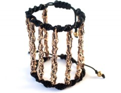BRACELET - 8 BRANCHES - BRONZE Carnet de Mode online fashion store Europe France