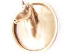 BROOCH - PONY - GOLDEN Carnet de Mode online fashion store Europe France