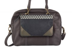 Bag - London / Casablanca - Taupe Carnet de Mode online fashion store Europe France