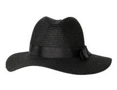 Black Bow Band Straw Floppy Hat Choies.com online fashion store United Kingdom Europe