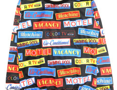 Black Contrast Letter Print Long Sleeve Sweatshirt Choies.com online fashion store United Kingdom Europe