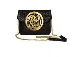 Black Python Le Icon Clutch Carnet de Mode online fashion store Europe France