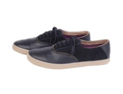 Black Sneakers in Leather and Suede - Robert Carnet de Mode online fashion store Europe France
