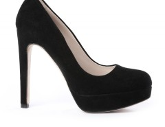 Black Suede Pumps - Jin Carnet de Mode online fashion store Europe France