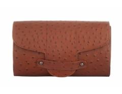 Bond Street Imitation Ostrich Leather Clutch Carnet de Mode online fashion store Europe France