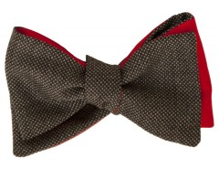 Bow tie - Caviar - Gray Carnet de Mode online fashion store Europe France