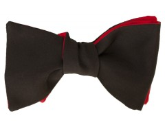Bow tie - Twill - Black Carnet de Mode online fashion store Europe France