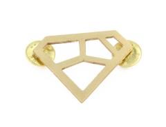 Brooch - METRIQ 4 - Brass Carnet de Mode online fashion store Europe France