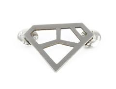 Brooch - METRIQ 4 - Stainless Steel Carnet de Mode online fashion store Europe France