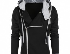 COOFANDY Men Fashion Casual Zipper Hooded Slim Hoodie Coat Cndirect online fashion store China