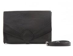 Clutch - CREAMY - Black Bubble Leather Carnet de Mode online fashion store Europe France
