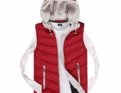 Coofandy Fashion Men's Sleeveless Hooded Outwear Jacket Vest Cndirect online fashion store China