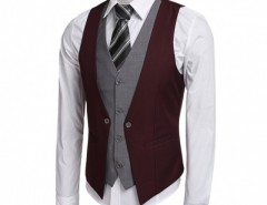 Coofandy Men's Formal Business Suit Vest Cndirect online fashion store China