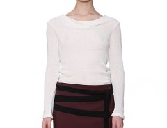 Cream Mesh Top Alexandra Carnet de Mode online fashion store Europe France