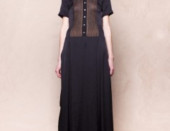 DRESS - D-09 - BLACK Carnet de Mode online fashion store Europe France