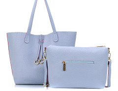Dark Cyan Ring Drop Tote Bag Choies.com online fashion store United Kingdom Europe