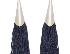 EARRINGS - FRINGES - BLUE Carnet de Mode online fashion store Europe France