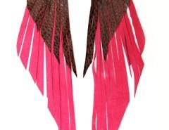 Earrings - Glorieuse - Fuchsia Carnet de Mode online fashion store Europe France