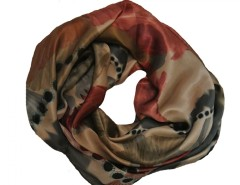 Edda Pink Silk Scarf Carnet de Mode online fashion store Europe France