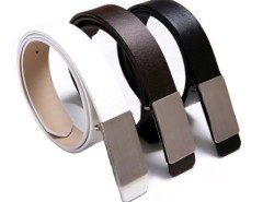 Fashion Korea Men's Faux Leather Stylish Casual Metal Buckle Belt Cndirect online fashion store China