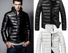 Fashion New Winter Warm Wear Stand Collar Men's Down Slim Parka Jacket Coats Outwear Cndirect online fashion store China
