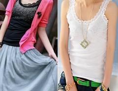 Fashion Rhinestone Sleeveless T-Shirt Tank Tops Vest 3 Colors Cndirect online fashion store China