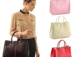 Faux Leather Women's Tote Shoulder Bags Handbag Cndirect online fashion store China