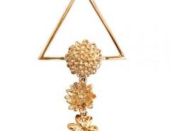 Flower Golden Clip Carnet de Mode online fashion store Europe France