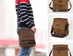 Free Ship in US New Fashion Men Retro Style Hiking Satchel Shoulder Bag Cndirect online fashion store China