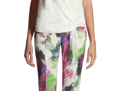 Garden Printed Trousers Christina Carnet de Mode online fashion store Europe France