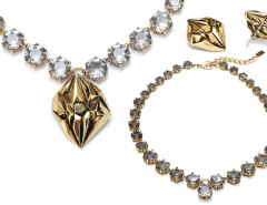 Geo Diamond 3-in-1 Necklace MrKate.com online fashion store USA