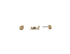 Geo Diamond Stud Earrings MrKate.com online fashion store USA