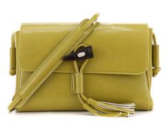 Ginger Horn Detail Tassel Cross Body Bag Choies.com online fashion store United Kingdom Europe