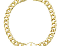 Golden Hollow Out Star Embellished Chain Necklace Choies.com online fashion store United Kingdom Europe