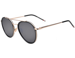 Gray Tinted Lens Aviator Sunglasses Choies.com online fashion store United Kingdom Europe