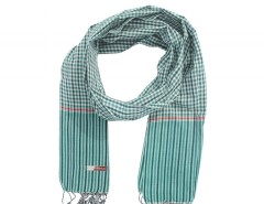 Green Cotton Scarf Carnet de Mode online fashion store Europe France