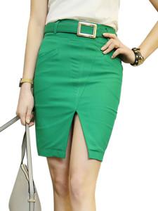 Waist belted skirt pintertest