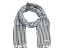 Grey Cotton Scarf Carnet de Mode online fashion store Europe France